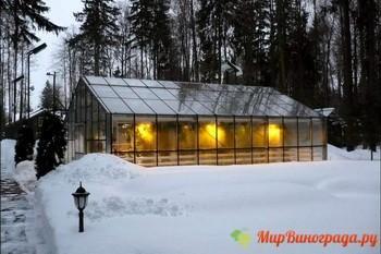 Зимние теплицы на даче