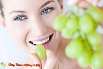 Как правильно употреблять виноград