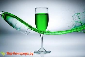Зеленое вино