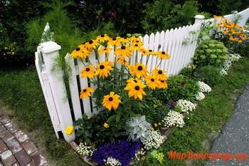Забор для загородного дома своими руками