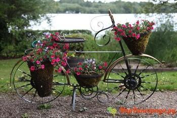 Необычный цветочный дизайн