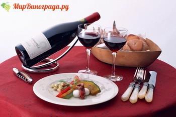 Как правильно подать красное вино
