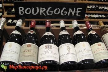 Вино Бургундия
