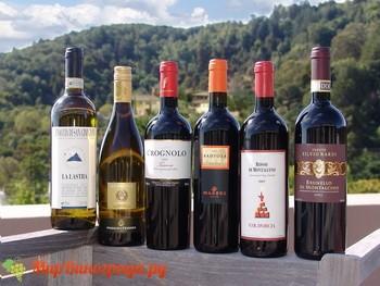 Вино Тоскана