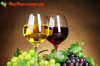 Белое или красное вино
