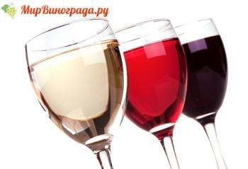 Белое и розовое вино
