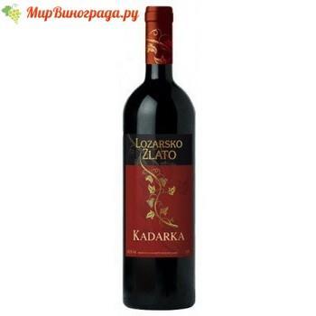 Вино Кадарка красное