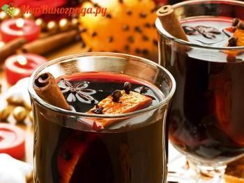 Глинтвейн из красного вина