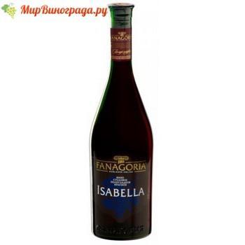 Красное вино изабелла