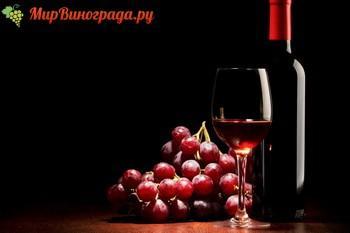Красное полусухое вино