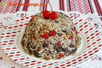 Кутья из риса с изюмом поминальная-1