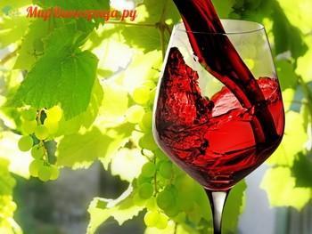 Состав красного вина