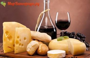 Сыр к красному вину