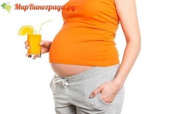 сок при беременности