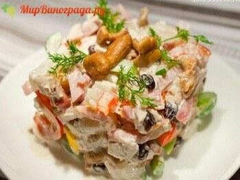 Рецепты салатов  «Изюминка»