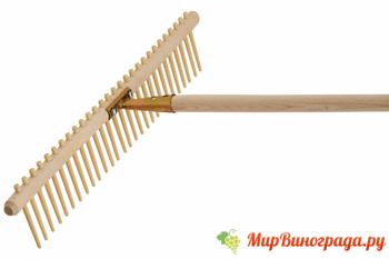 Как сделать грабли своими руками-деревянные